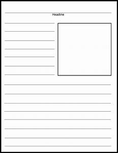 free printable newspaper template for students - free printable newspaper template for students best