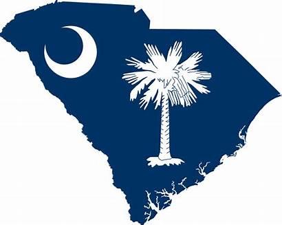 Carolina South Flag Svg Map Wikipedia Archivo