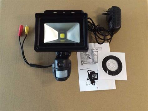 motion flood light with camera security surveillance covert camera with flood light