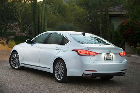 2015 Hyundai Genesis Sedan First Drive