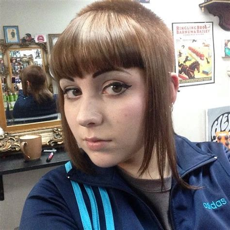 If this beauty ever asks for a normal haircut i will probably die of shock. 106 best Chelsea Haircut Skingirl images on Pinterest ...