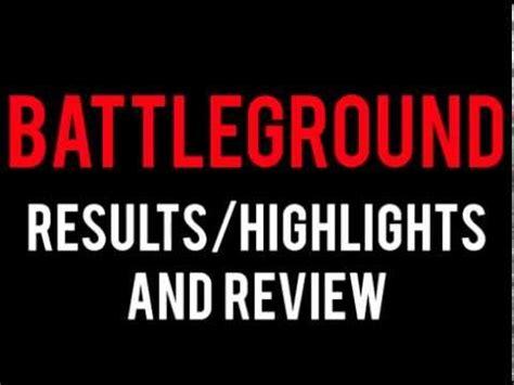 wwe battleground t