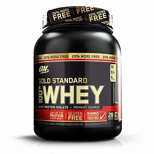 Whey Protein 100  Whey Gold Standard 20  More Free 1 09kg - Optimum Nutrition
