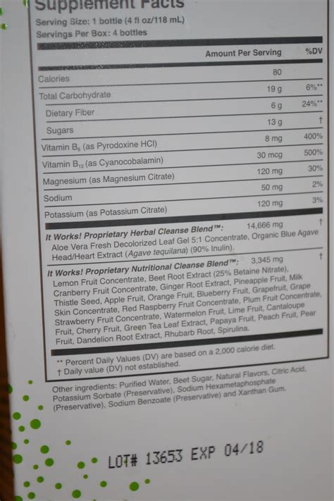 Itworks Cleanse Review Organic Deal Diva