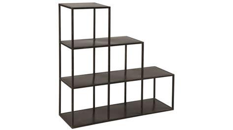 etagere escalier pas cher etag 232 re escalier en acier noir etag 232 re biblioth 232 que design pas cher