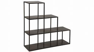 Etagère Design Pas Cher : etag re escalier en acier noir etag re biblioth que ~ Dailycaller-alerts.com Idées de Décoration