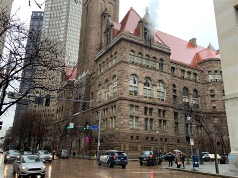 Parts Of Allegheny Co. Courthouse Closed After COVID-19 Test