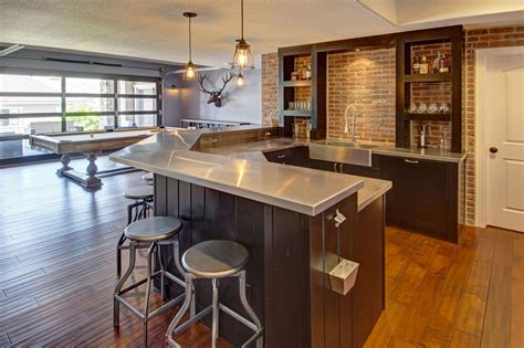Basement Bar Ideas And Designs Pictures, Options & Tips