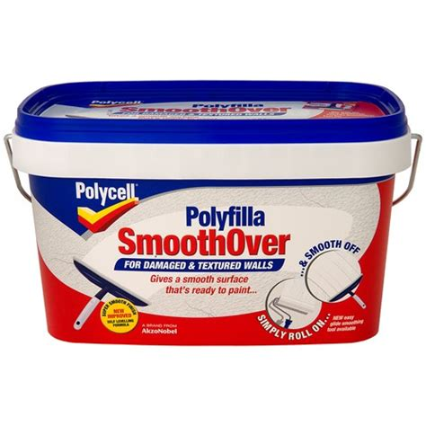 Polycell Polyfilla Smoothover For Damaged & Textured Walls