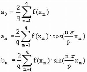 Fourierreihe Berechnen : einsatz moderner hilfsmittel im mathematikunterricht ~ Themetempest.com Abrechnung