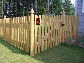Home Depot Treated Deck Boards by Staggered Slats Dog Fence Ideas Pinterest Fence