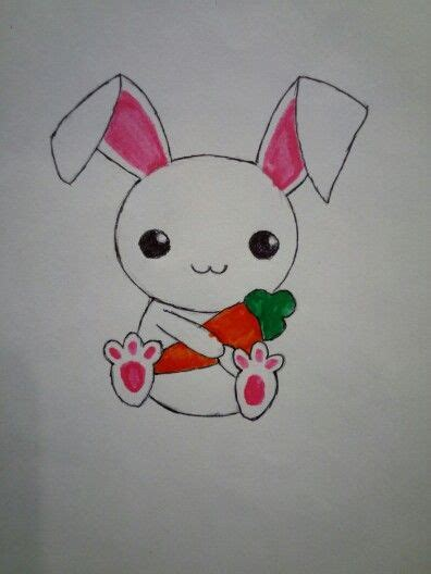 cute small bunny drawing simple drawing tattoo