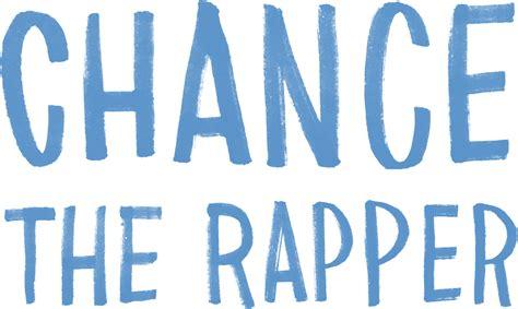 chance  sticker square multicolor chance  rapper