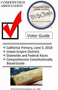 Political Pistachio: Inland Empire Primary Election Voter ...
