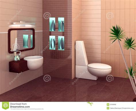 Modernes Badezimmer Lizenzfreie Stockfotos  Bild 2340668