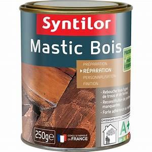 mastic a bois de rebouchage syntilor bois clair 250 g With mastic a bois exterieur