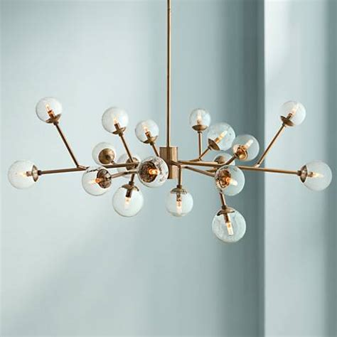 Chandelier Dallas Tx by Arteriors Home Dallas 58 Quot Wide Vintage Brass Chandelier