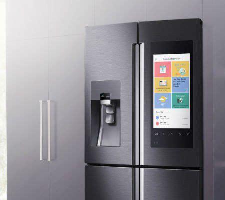demonstration du refrigerateur connecte samsung family hub