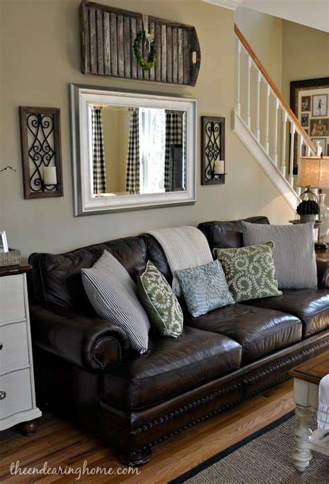 updated family room tour