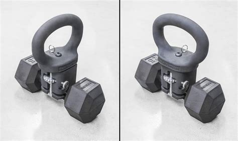 kettlebell dumbbell gifts weightlifting rogue turns into clamp garage kettle kettlebells bell fitness any crossfit years