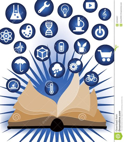 knowledge  education learning stock vector