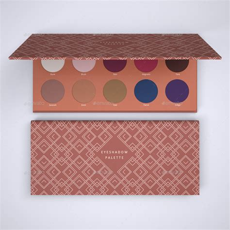 eyeshadow palette mock   sanchi graphicriver