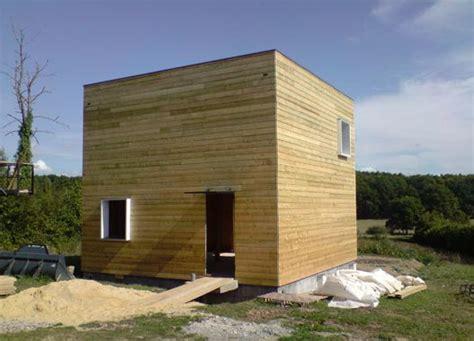 maison en bois pas chere maison en cube 224 petit prix