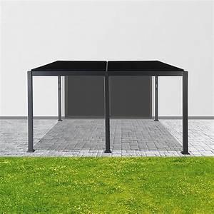 Aluminium Pavillon Mit Doppelstegplatten : sunfun pavillon palma 3 x 4 x 1 4 m anthrazit bauhaus ~ Whattoseeinmadrid.com Haus und Dekorationen