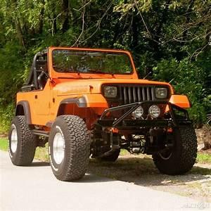 1987 Jeep Wrangler Laredo 4x4 4 2l I6 12v Manual 4wd For