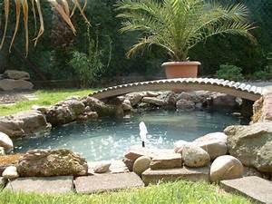 Bassin De Jardin Pour Poisson : mon petit bassin ~ Premium-room.com Idées de Décoration