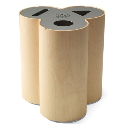 designer trash can designing for disposal part 3 recycling stations core77