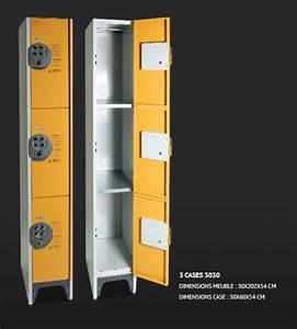 Casier De Rangement Métal : casier de rangement m tallique ~ Dode.kayakingforconservation.com Idées de Décoration