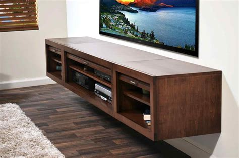 diy floating tv stand breakpr