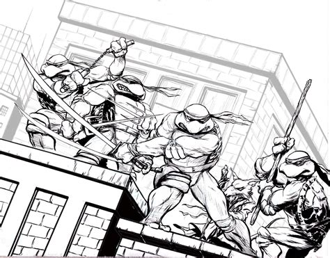 easy teenage mutant ninja turtle coloring pages coloring home