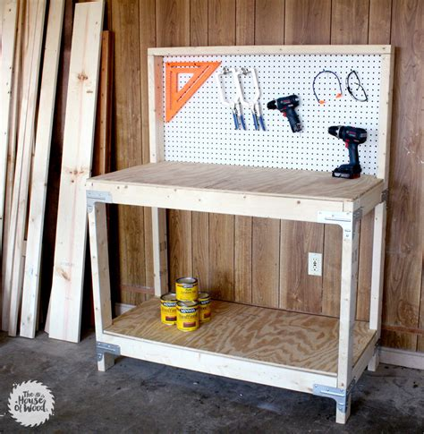 Diy Workbench With Simpson Strongtie Workbench Kit