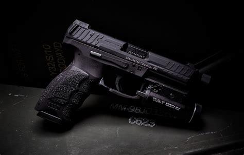wallpaper gun flashlight tactical hk vp images  desktop section oruzhie