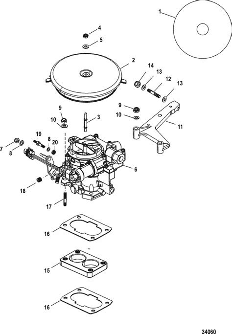 mercruiser  carburetor alpha bravo carburetor
