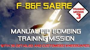 F-86f Sabre  Training Mission 3