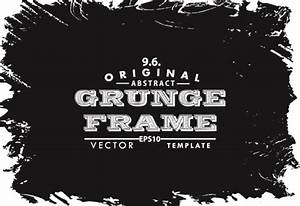 Black grunge frame background graphics vector Free vector ...
