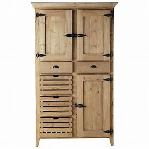 Maison Du Monde Vaisselier : vaisselier en bois recycl l 120 cm pagnol maisons du monde ~ Preciouscoupons.com Idées de Décoration