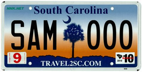 Vanity Plates Sc by South Carolina License Plates