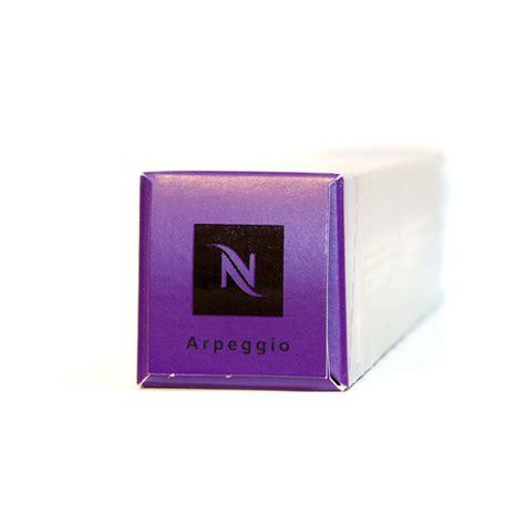 Nespresso Capsules   Arpeggio   box of 10 coffee pods