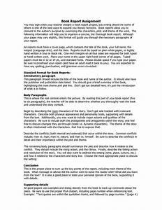 book report examples 9th grade