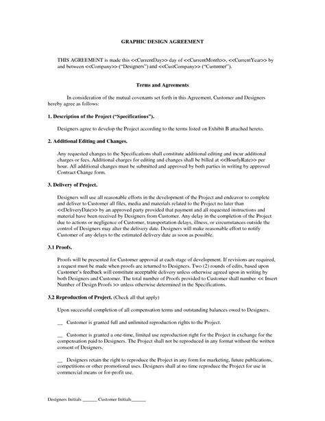 graphic artist contract template qualads