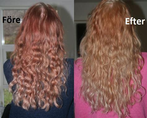 Tona håret frisör