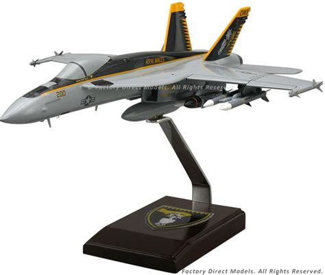 Boeing F-18 Super Hornet Scale Model Airplane
