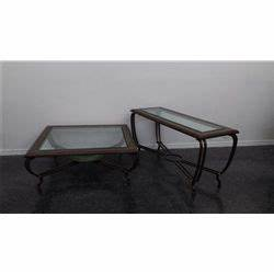 iron and glass sofa table matching coffee With sofa table with matching coffee table
