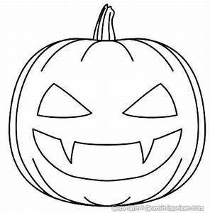 Masque Halloween A Fabriquer : coloriage de citrouille pour halloween a imprimer dessin ~ Melissatoandfro.com Idées de Décoration