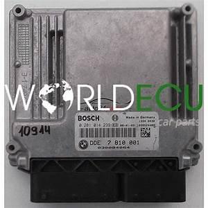 Ecu Engine Controller Bmw X3 118 E87 E90 Bosch 0 281 014
