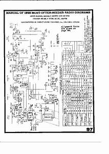 Arvin 360tfm  361tfm  Service Manual  Repair Schematics